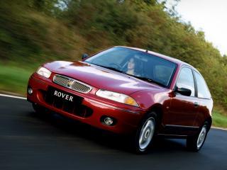 обои Rover 200 3-door (R3) 1995 красная фото