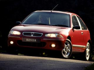 обои Rover 200 3-door (R3) 1995 перед фото
