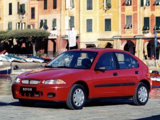обои Rover 200 5-door (R3) 1995 красная фото