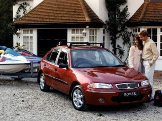 обои Rover 200 5-door (R3) 1995 пара фото
