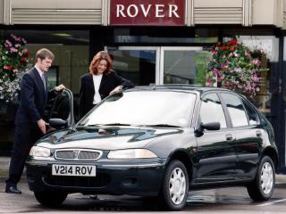 обои Rover 200 5-door (R3) 1995 перед фото
