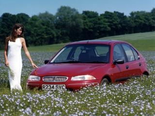 обои Rover 200 5-door (R3) 1995 поле фото