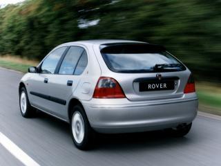 обои Rover 200 5-door (R3) 1995 серебристая фото
