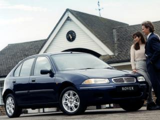 обои Rover 200 5-door (R3) 1995 синяя фото