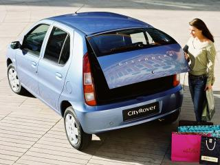 обои Rover CityRover 2003 багажник фото