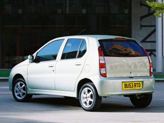 обои Rover CityRover 2003 задок белая фото