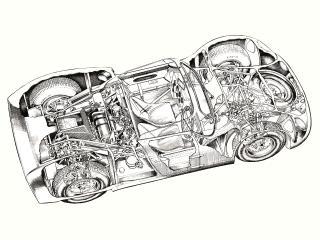 обои Rover-BRM 1963 внутри фото