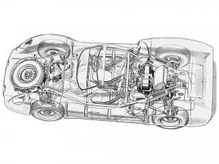 обои Rover-BRM 1963 схема фото