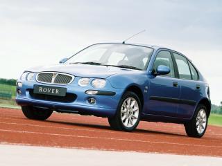обои Rover 25 Spirit 2002 перед фото