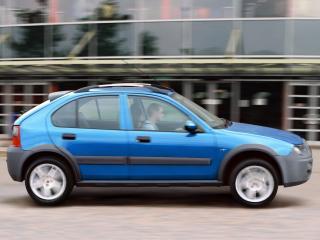 обои Rover 25 Streetwise 5-door 2003 бок фото