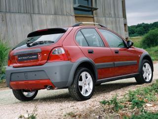 обои Rover 25 Streetwise 5-door 2003 боком фото