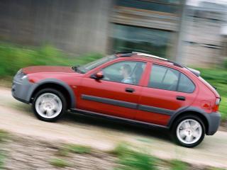 обои Rover 25 Streetwise 5-door 2003 дорога фото