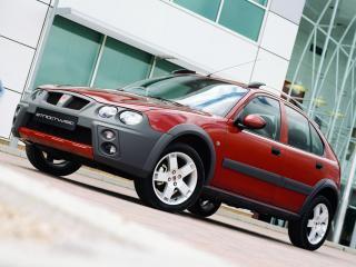 обои Rover 25 Streetwise 5-door 2003 красная фото