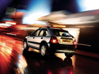 обои Rover 25 Streetwise 5-door 2003 ночь фото