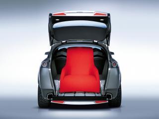 обои для рабочего стола: Rover TCV Concept 2002 багажник