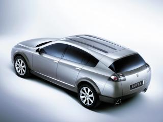 обои для рабочего стола: Rover TCV Concept 2002 бок