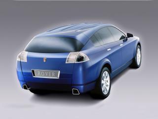 обои для рабочего стола: Rover TCV Concept 2002 задок