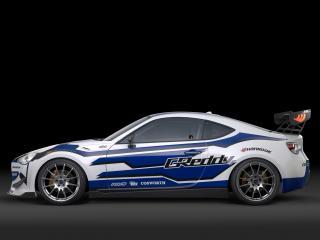 обои Scion FR-S Race Car 2012 бок фото