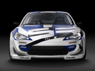 обои Scion FR-S Race Car 2012 капот фото