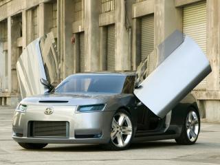 обои Scion Fuse Sports Coupe Concept 2006 двери фото