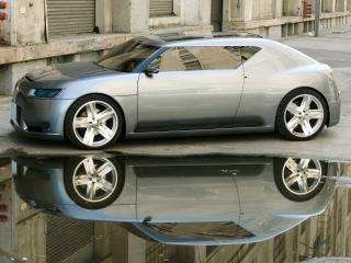 обои Scion Fuse Sports Coupe Concept 2006 лужа фото