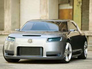 обои Scion Fuse Sports Coupe Concept 2006 передок фото