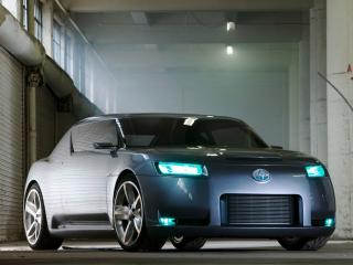 обои Scion Fuse Sports Coupe Concept 2006 фары фото
