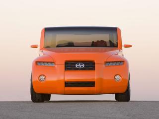 обои Scion Hako Coupe Concept 2008 капот фото