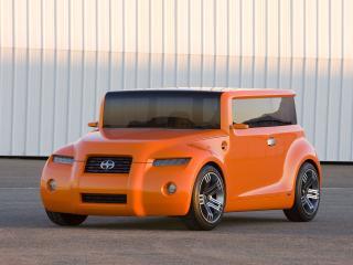 обои Scion Hako Coupe Concept 2008 перед фото