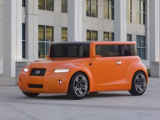 обои Scion Hako Coupe Concept 2008 фары фото