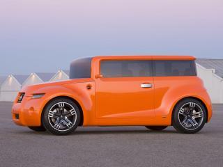 обои Scion Hako Coupe Concept 2008 футуристично фото