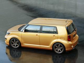 обои Scion xB 2008 золотая фото