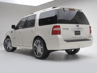 обои Ford Expedition Urban Rider Styling Kit by 3dCarbon 2007 зад фото