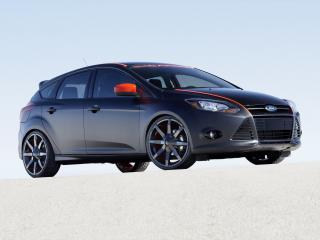 обои Ford Focus 5-door by 3dCarbon 2010 сбоку фото