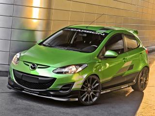 обои Mazda 2 by 3dCarbon 2011 перед фото