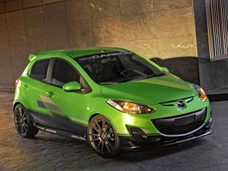 обои Mazda 2 by 3dCarbon 2011 сила фото