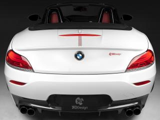обои 3D Design BMW Z4 Roadster M Sports Package (E89) 2011 багажник фото