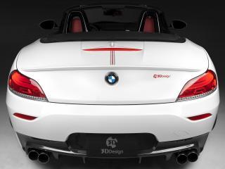 обои для рабочего стола: 3D Design BMW Z4 Roadster M Sports Package (E89) 2011 багажник