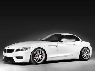 обои 3D Design BMW Z4 Roadster M Sports Package (E89) 2011 белая фото