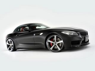 обои 3D Design BMW Z4 Roadster M Sports Package (E89) 2011 черная фото