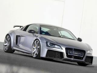 обои TC-Concepts Audi R8 Toxique 2011 перед фото