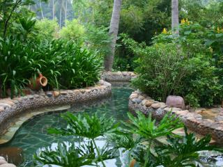 обои Ландшафтный дизайн бассейна фото