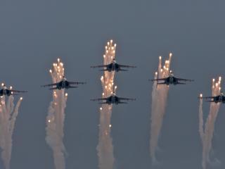 обои Авиация в небе фото