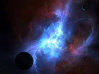 обои Космический пульсар света фото