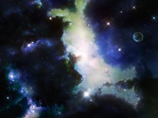 обои Неизведанность космических далей фото