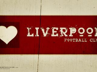 обои Надпись ливерпуль футбольный клуб фото