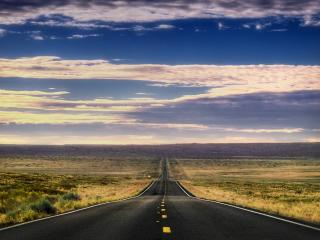 обои Пейзаж  дороги у горизонта фото