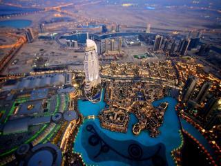 обои Красивый панорамный вид города