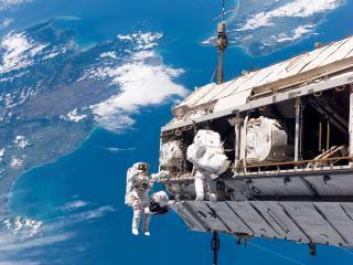обои Десант астронавтов фото