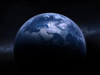 обои Земля во вселенной фото